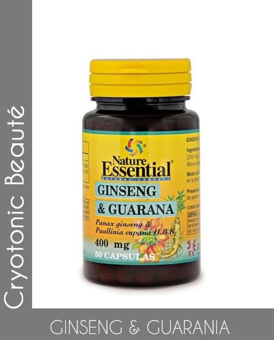 Ginseng et Guarana complément alimentaire